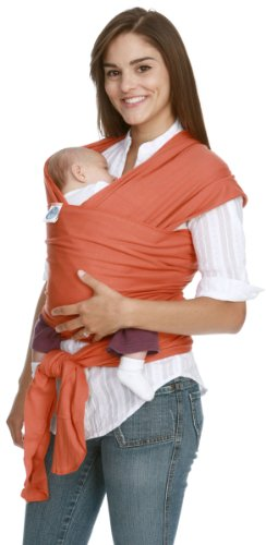Moby Wrap Original 100% Cotton Baby Carrier, Sienna