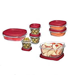 Rubbermaid  Easy Find Lid 18-Piece Food-Storage Container Set with Lids