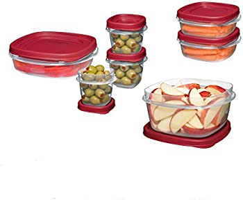 18-Pc. Rubbermaid Food Storage Container Set