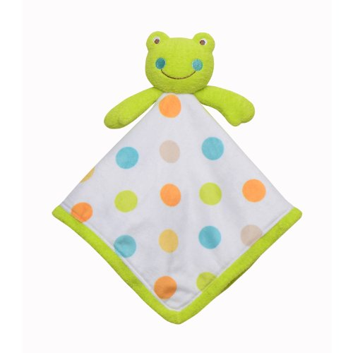 Babystarters Snuggle Buddy Security Blanket, Green