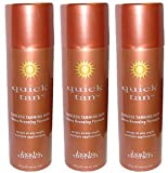 Body Drench Quick Tan * 3 - Pack * Instant Self-tanning Spray * 6 Oz Can
