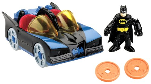 Fisher-Price Imaginext DC Super Friends Batmobile with Lights at Gotham City Store