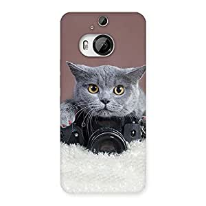 Cute Kitty Photograph Back Case Cover for HTC One M9 Plus