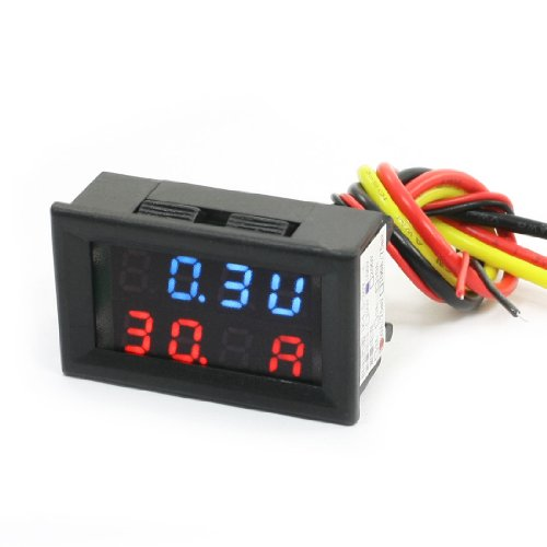 Digital Display Voltmeter Ammeter 0-100V 50A/75Mv Volt Amp Measuring front-1044624