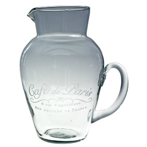 America Retold Cafe De Paris Large Pitcher  Kitchen