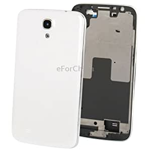 High Quality Full Housing Replacement Chassis with Back Cover Volume Button for Samsung Galaxy Mega 6.3 / i9200 (White)