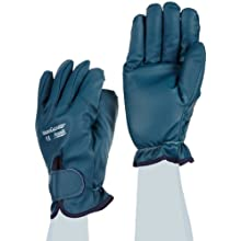 Ansell Vibraguard 7-112 Nitrile Anti Vibration Glove, Cut Resistant, Full Finger Coated on Interlock Knit Liner
