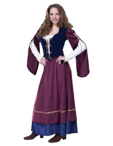 Adult-Costume Lady Renaissance Md Halloween Costume - Adult Medium