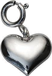 fourseven Loving Heart Charm Pendant in 925 Sterling Silver