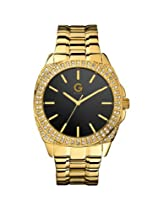 G by GUESS Oversized Glitz Gold Watch