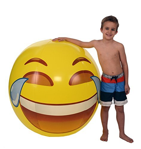 Emoji Joy Beach Ball