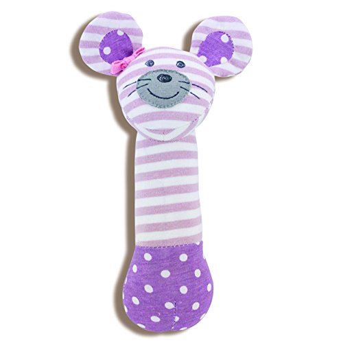 Organic Farm Buddies, Ballerina Mouse Squeaky Toy