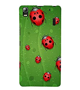 Beetle Line 3D Hard Polycarbonate Designer Back Case Cover for Lenovo K3 Note :: Lenovo A7000 Turbo