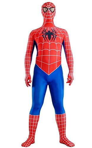 Maconaz Spiderman Red and Blue Tight Suit