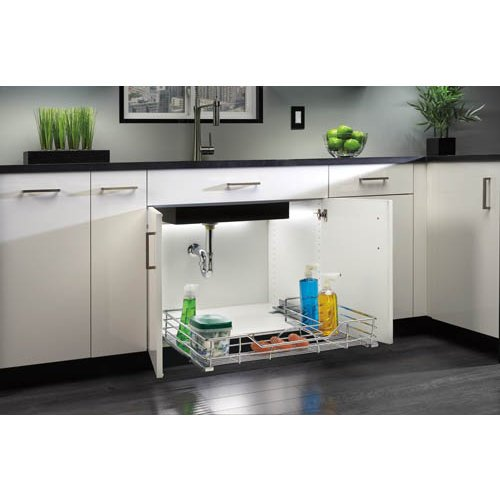 Rev-A-Shelf 5786-30 5786 Series 30 Inch Undersink Organizer with Soft Close Slid 30 3000r