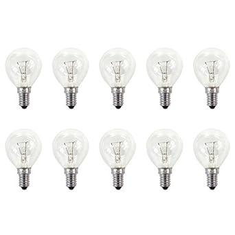 Osram 10x ampoule Lustre classique P CL 40W E14 claire