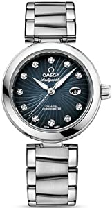 NEW OMEGA DeVILLE LADYMATIC LADIES WATCH 425.30.34.20.56.001