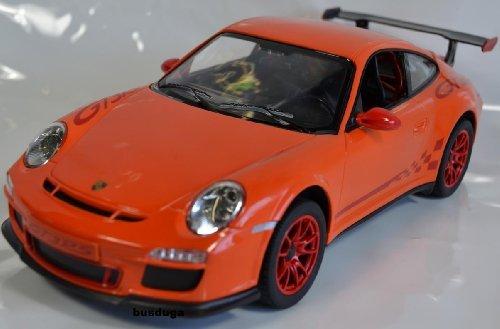 RC Porsche GT3 RS Maßstab.: 1:14 – ferngesteuert mit LED-Licht – komplett Set – Farbe.: orange – LIZENZ-NACHBAU jetzt bestellen