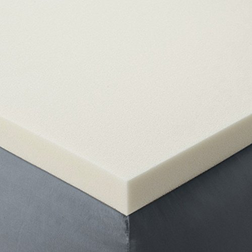 Queen Size 2 Inch Thick, Ultra Premium Visco Elastic Memory Foam Mattress Pad Bed Topper. Made in the USA