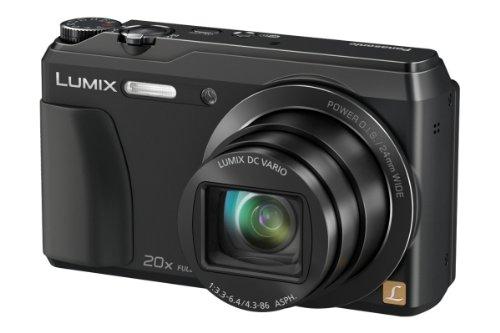 Panasonic DMCTZ56EGK Travellerzoom Kompaktkamera (16 Megapixel, 20fach opt. Zoom, 7,6 cm (3 Zoll) LCDDisplay, Full HD, WiFi, USB 2.0) schwarz Picture