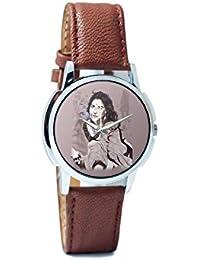 BigOwl Vidya Balan Painting Analog Men's Wrist Watch 2204826126-RS1-W-BRW