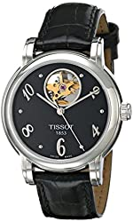 Tissot Women's T0502071605700 Heart Automatic Black Open Dial Watch