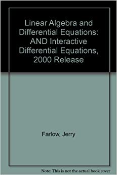 differential equations and linear algebra farlow pdf