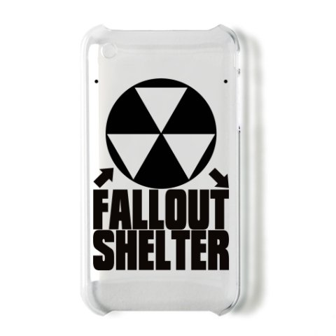 Fallout_Shelter iPhone3G/3GSオリジナルケース (クリア)