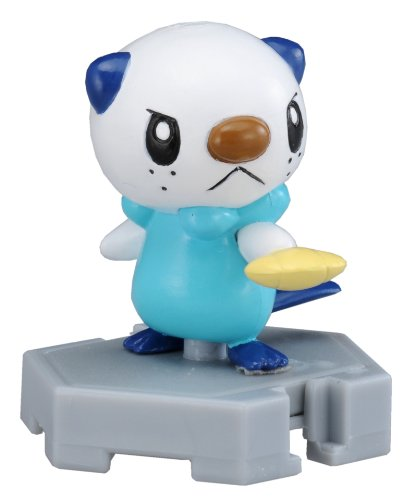 Takaratomy Pokemon Monster Collection Plus - MP-03 - Oshawott/Mijumaru Action Figure, 2""