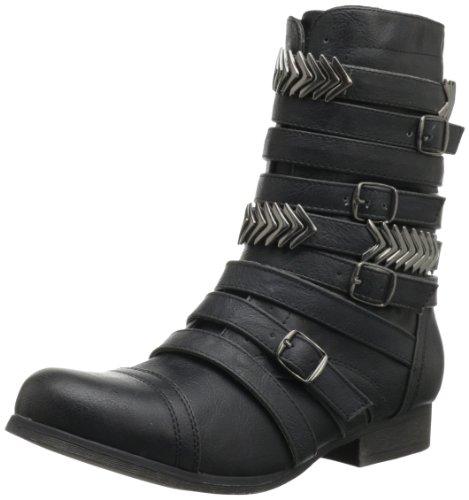 Madden Girl Women'S Georgie Boot,Black Paris,7.5 M Us front-38434
