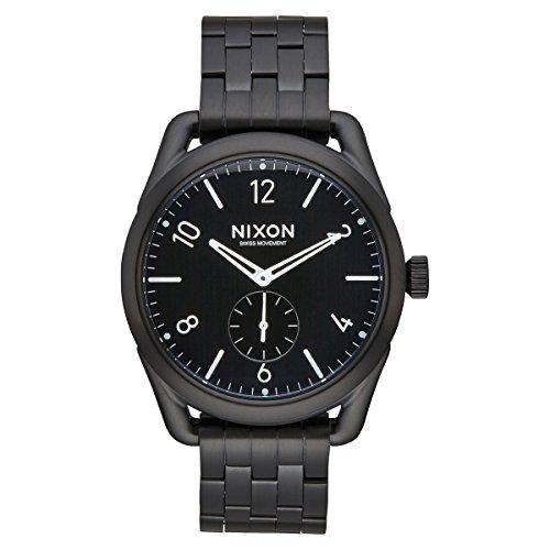 Nixon Unisex Reloj de pulsera C39SS analógico, de cuarzo, Acero inoxidable A950–001–00