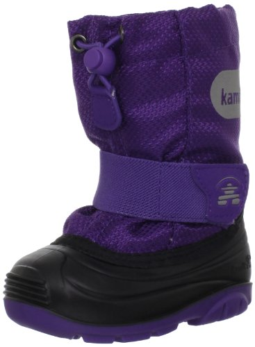 Kamik Icepop Boot (Toddler),Deep Purple,5 M US Toddler