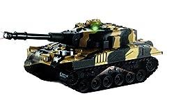 Shopaholic Remote Control Tank With Light & Sound