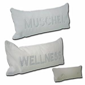 Badewannenkissen 40cm x 20cm (Wellness)