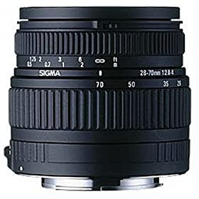 Sigma 28-70mm f/2.8-4.0 High Speed Zoom Lens for Canon SLR Cameras
