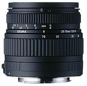 Sigma 28-70mm f 2 8-4 0 High Speed Zoom Lens for Canon SLR CamerasB00009XW0E : image