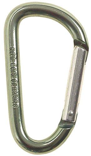 MaxFuchs Karabinerhaken, D 8mmx8cm, oliv 8 mm x 8 mm