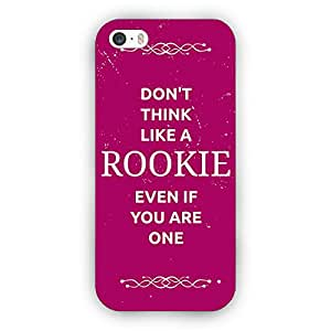 EYP SUITS Quotes Back Cover Case for Apple iPhone 5C