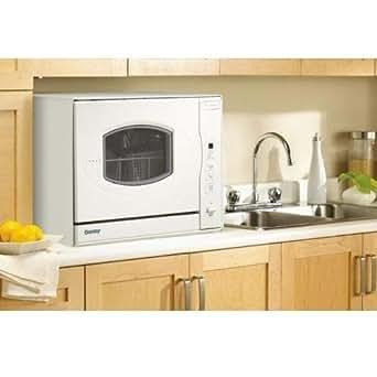 Danby Countertop Dishwasher Amazon : Amazon.com: Danby DDW497W 23 Countertop Dishwasher - White: Appliances