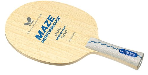 Butterfly Maze Performance Flared Table Tennis Blade (Natural)
