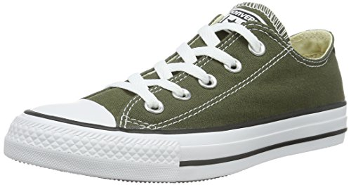 Converse Chuck Taylor All Star, Sneakers Unisex Adulto, Verde (Herbal), 37 EU