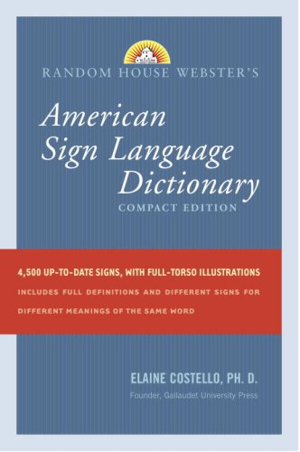 Random House Webster's Compact American Sign Language...