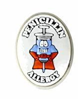 AllerMates Penicillin Allergy Charm for Multi-Allergy Wristband: SuperCillin by Awearables, Inc.