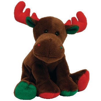 TY Beanie Baby - TRIMMINGS the Moose - 1