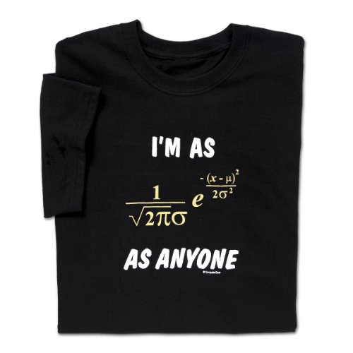 I'm as Normal - Math T-shirt