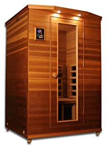 Premier Cedar 2 Person Infrared Sauna