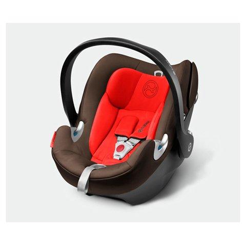 Cybex GmbH Babyschale Aton Q/Mahagony-brown