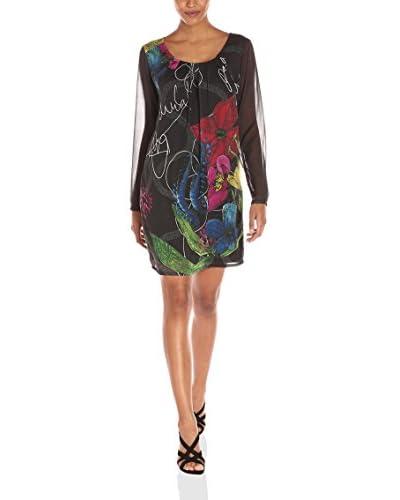 Desigual Kleid Noir (NEGRO 2000)