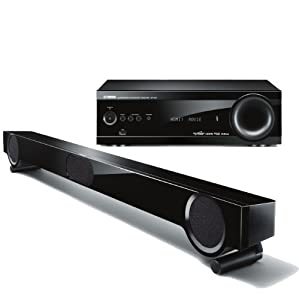 Yamaha YHT-S401BL Front Surround Home Theater System (Discontinued by Manufacturer)