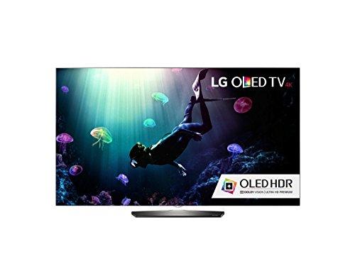 LG Electronics OLED65B6P Flat 65-Inch 4K Ultra HD Smart OLED TV (2016 Model)
